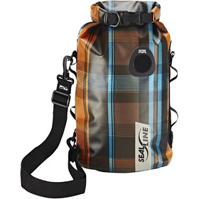 SealLine Discovery Sac de compression étanche 10l, olive plaid